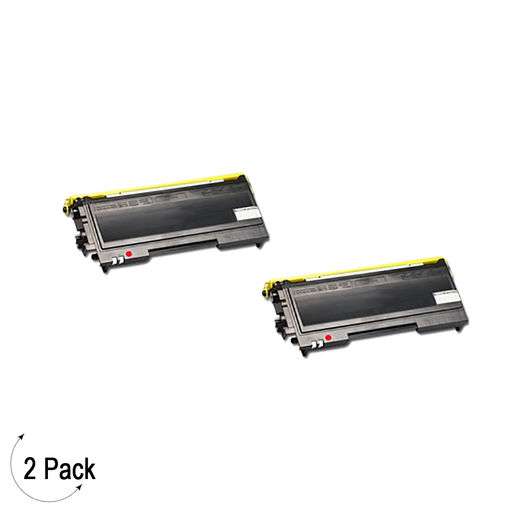 Compatible Brother TN 350 Toner 2 Pack