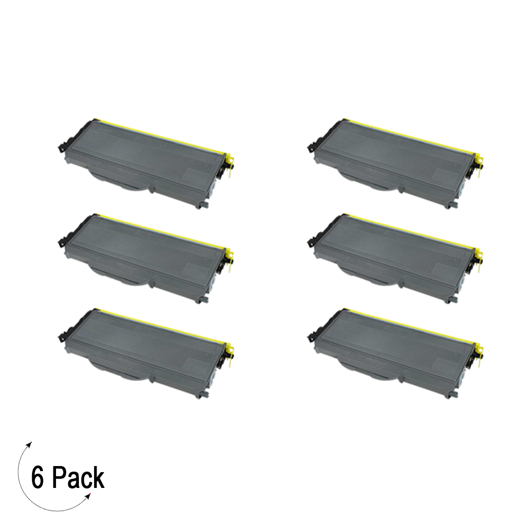 Compatible Brother TN 360 Toner 6 Pack
