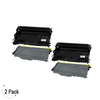 Compatible Brother TN-360/DR360 Toner & Drum Combo 2 Pack