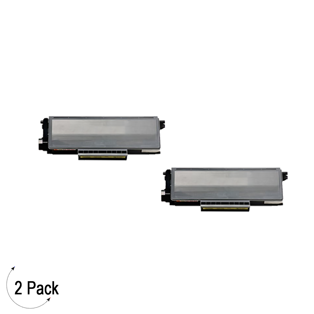 Compatible Brother TN-650 Toner 2 Pack