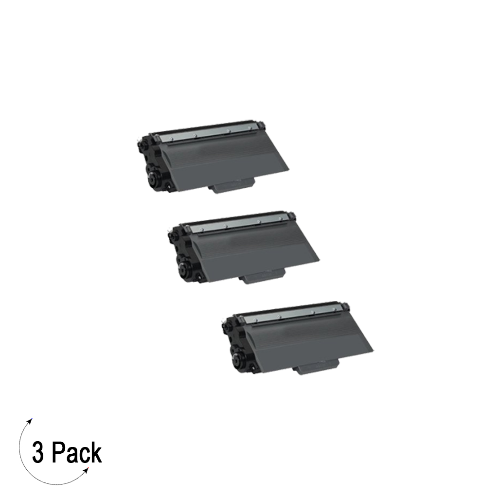 Compatible Brother TN 780 Toner 3 Pack