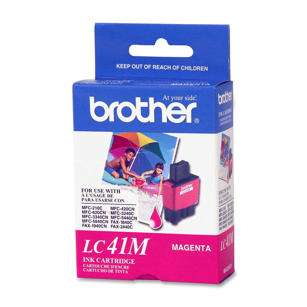 Brother LC 41M Magenta -original Ink