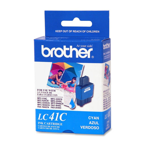 Brother LC 41C Cyan -original Ink