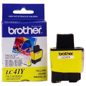 Brother LC 41Y Yellow -original Ink