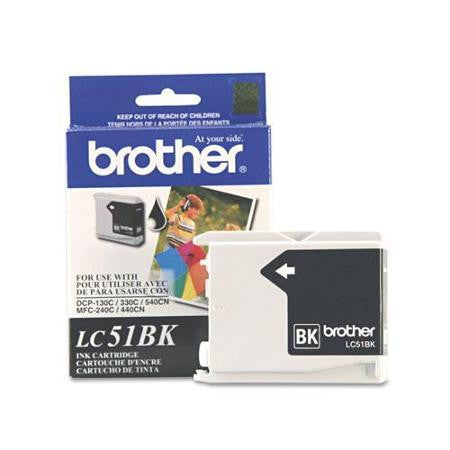 Brother LC 51 Black -original Ink