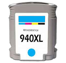 Compatible HP 940XL  Cyan -Ink  (C4907ANR)
