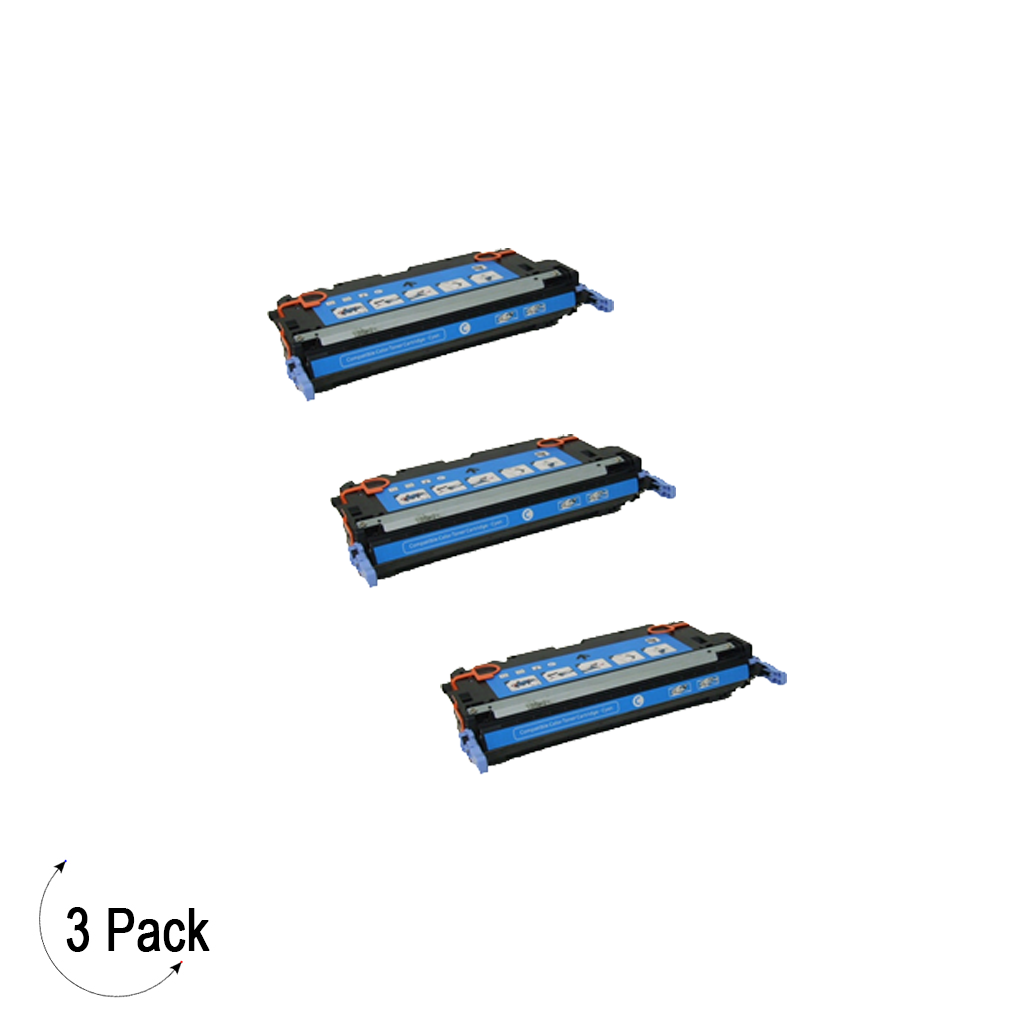 Compatible HP 645A Cyan -Toner 3 Pack (C9731A)