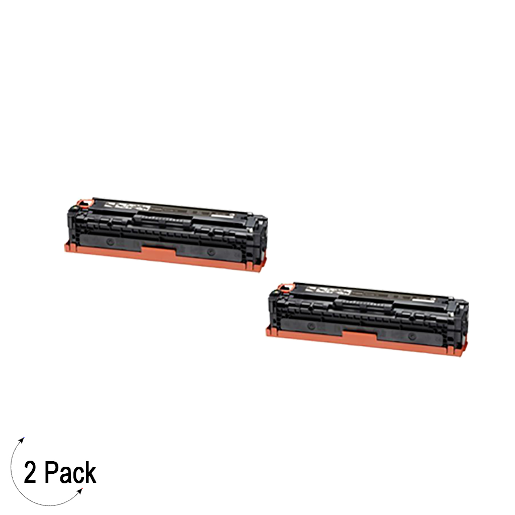Compatible Canon 131 High Yield Black Toner 2 Pack
