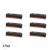 Compatible Canon 131 High Yield Black Toner 6 Pack