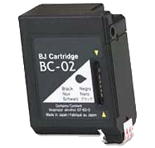 Compatible Canon  BC 02 Black -Ink  Single pack