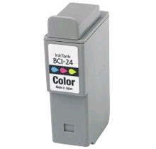 Compatible Canon  BCI 24 Tri-Color -Ink  Single pack