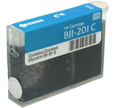Compatible Canon  BJI 201 Cyan -Ink  Single pack