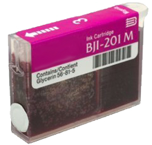 Compatible Canon  BJI 201 Magenta -Ink  Single pack