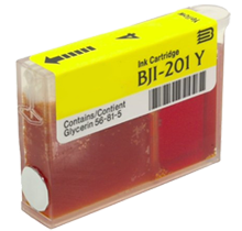 Compatible Canon  BJI 201 Yellow -Ink  Single pack