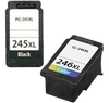 Compatible Canon PG 245XL/CL 246XL Ink Cartridge Black Tri-Color High Yield Combo