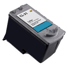 Compatible Canon  CL 31 Tri-Color -Ink  Single pack