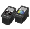 Compatible Canon PG-240XL/CL-241XL Ink Cartridge Combo Pack (Black Tri-Color)