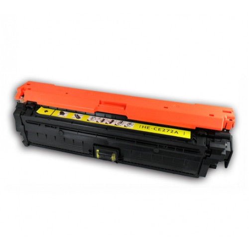 Compatible HP 650A Yellow -Toner  (CE272A)