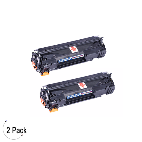 Compatible HP 78A Black -Toner 2 Pack (CE278A)