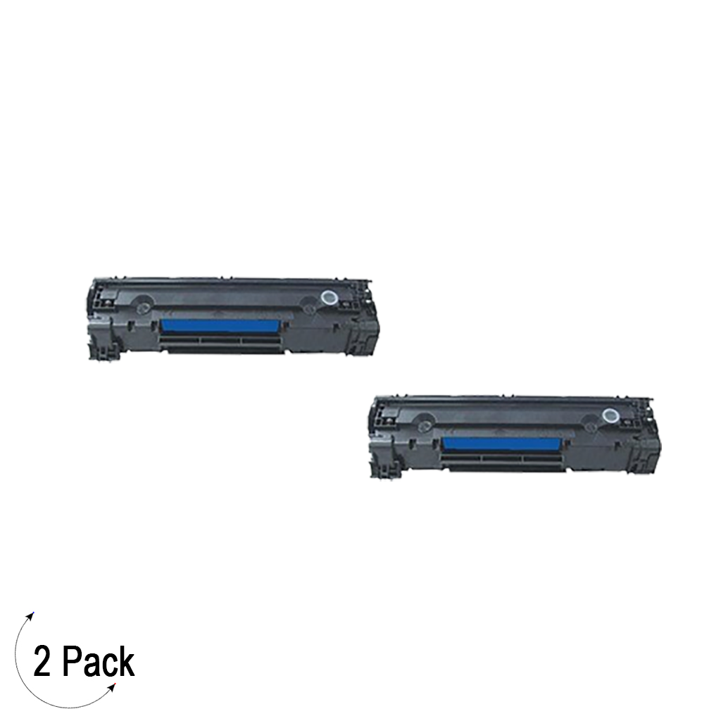 Compatible HP 85A Black -Toner 2 Pack (CE285A)