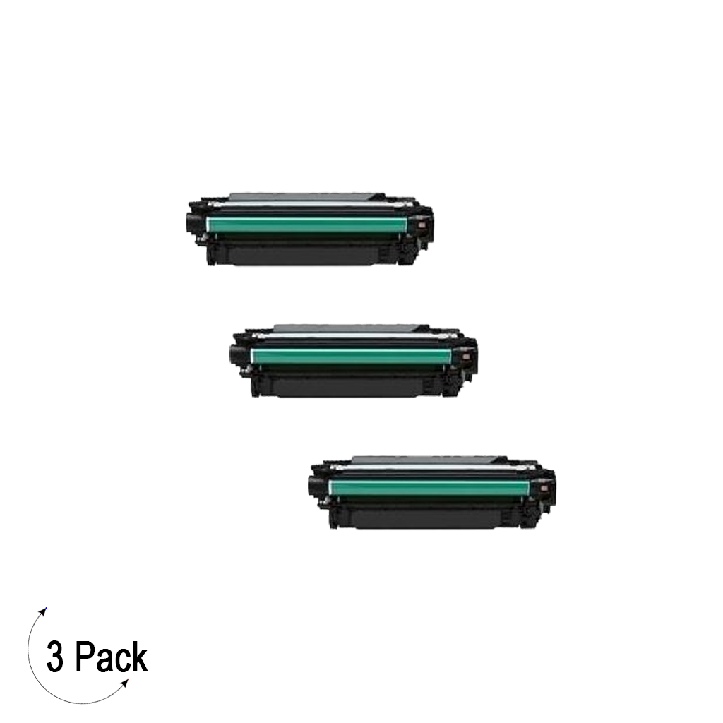 Compatible HP 507X Black -Toner 3 Pack (CE400X)