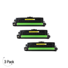 Compatible HP 201A Yellow -Toner 3 Pack (CF402A)