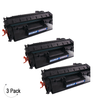 Compatible HP 80A Black -Toner 3 Pack (CF280A)