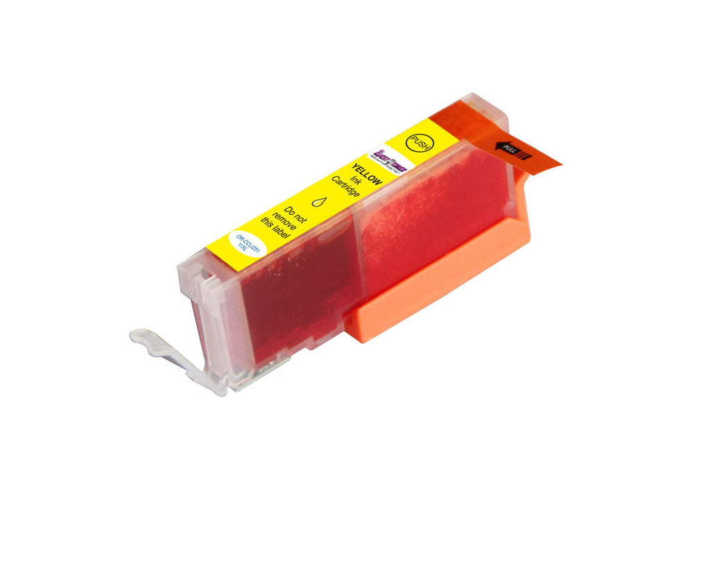 Compatible Canon  CLI 251XL Yellow -Ink  Single pack