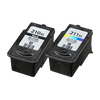 Compatible Canon  PG 210XL CL 211XL BK/Color -Ink  Combo Pack