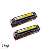 Compatible Canon 131 Yellow Toner 2 Pack