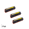 Compatible Canon 131 Yellow Toner 3 Pack