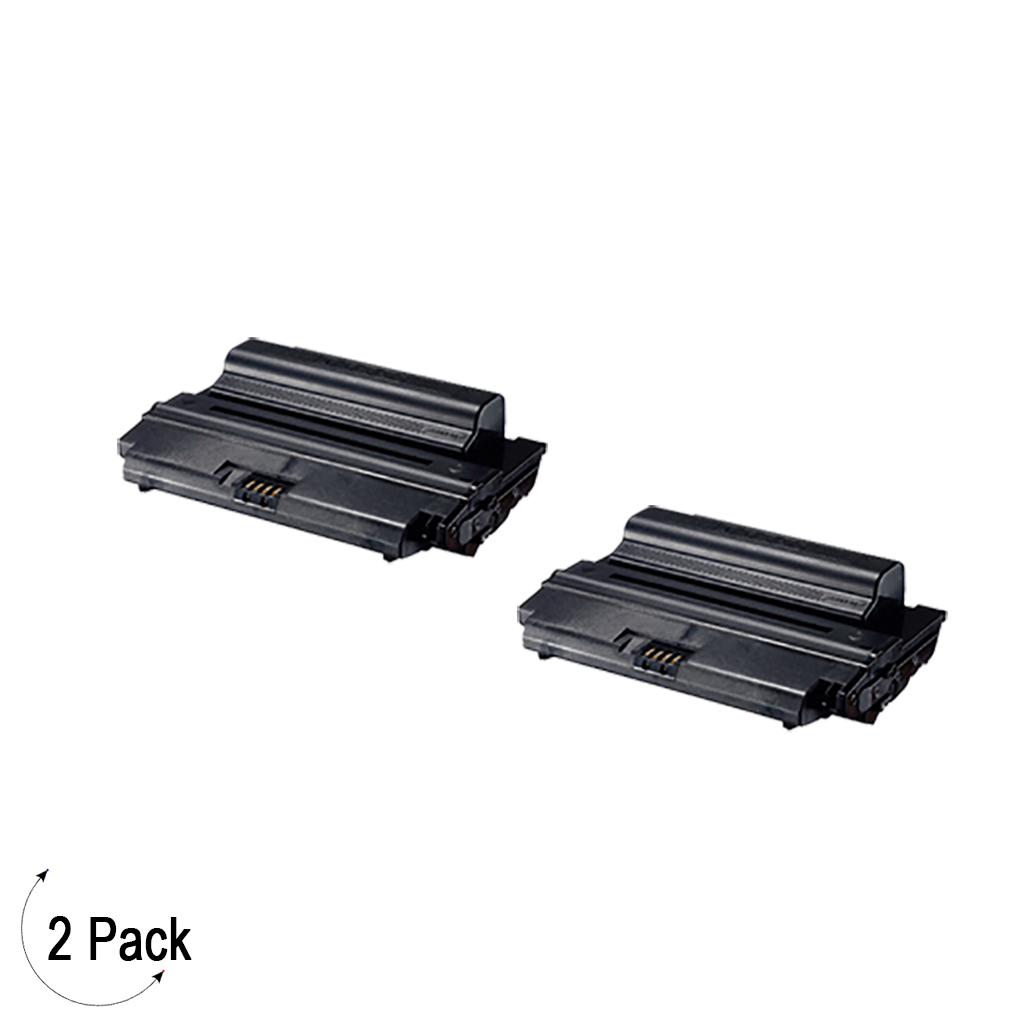 Compatible Samsung ML D3470B Black -Toner 2 Pack  (ML-D3470B)