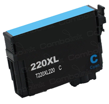 Compatible Epson T220XL220 Cyan -Ink  Single pack