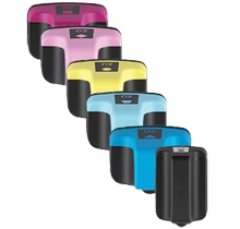 Compatible HP 02 -Ink  Set - Black Cyan Yellow Magenta Light Cyan Light Magenta