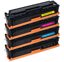 Compatible HP 305X SET (Black/Cyan/Magenta/Yellow) - Toner