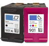 Compatible HP 901XL BK/Tri Color -Ink  (CC654AN)