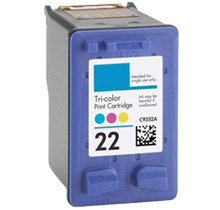 Compatible HP 22 C9352AN Color -Ink  (C9352AN)