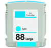 Compatible HP 88XL C9391AN C9386AN Cyan -Ink