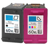 Compatible HP 60 XL BK/CL -Ink  (CC641WN/CC644WN)