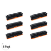 Compatible HP 305X Black -Toner 6 Pack (CE410X)