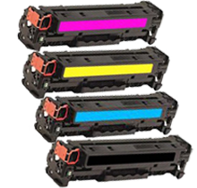 Compatible HP 312X  Toner Set (CF380X/381A/382A/383A)