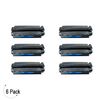 Compatible HP 13X Black -Toner 6 Pack (Q2613X)