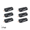 Compatible HP 49A Black -Toner 6 Pack (Q5949A)
