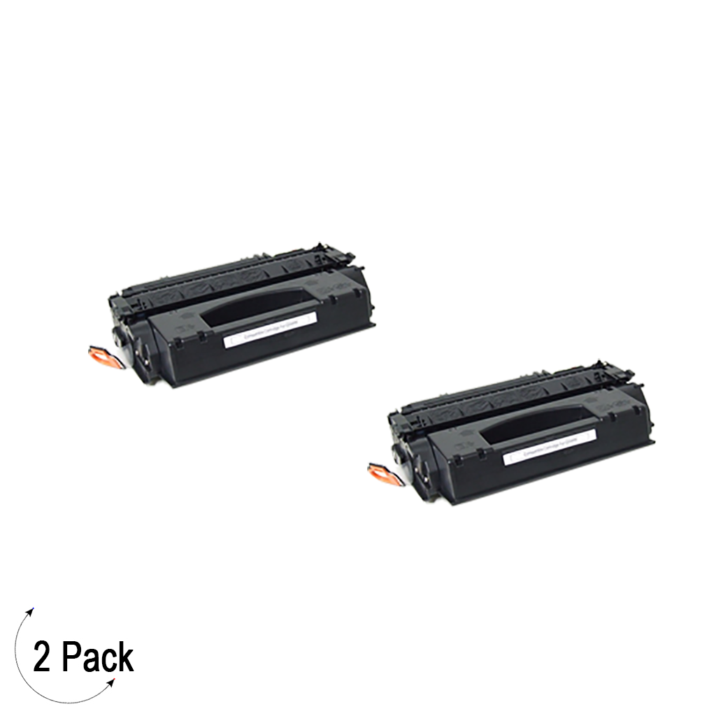Compatible HP 49X Black -Toner 2 Pack (Q5949X)