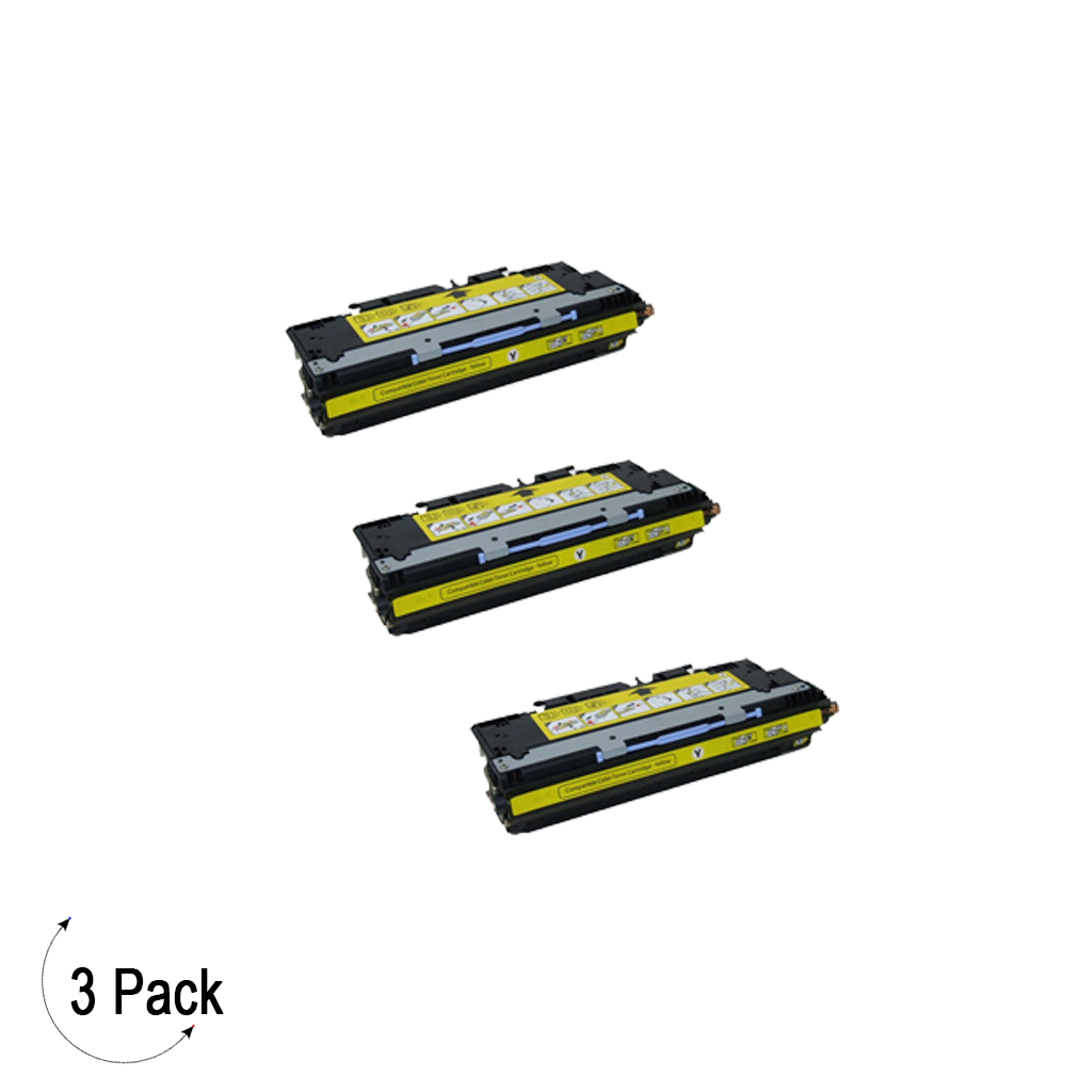 Compatible HP 502A Yellow -Toner 3 Pack (Q6472A)