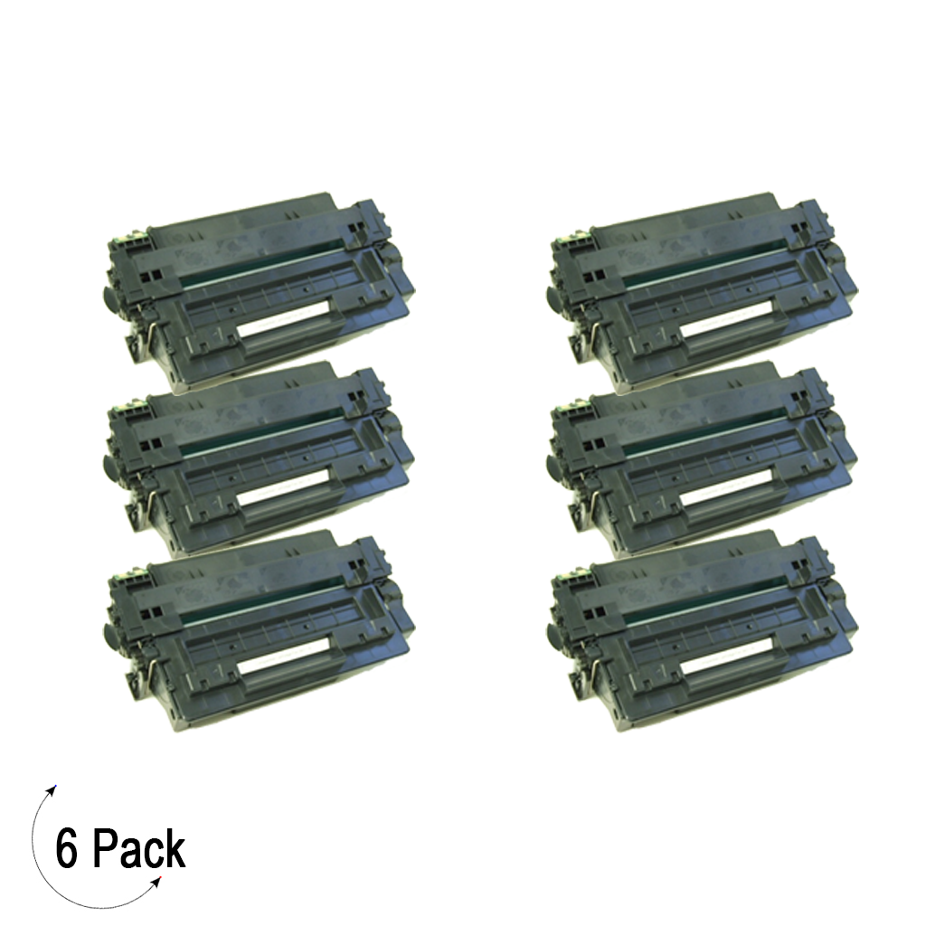 Compatible HP 11X Black -Toner 6 Pack (Q6511X)