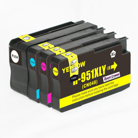 Compatible HP 950 / 951 XL INK / INKJET Cartridge Set Black Cyan Yellow Magenta