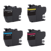 Compatible Brother LC3013 High Yield ink Cartridge Set (Black, Cyan, Magenta, Yellow)