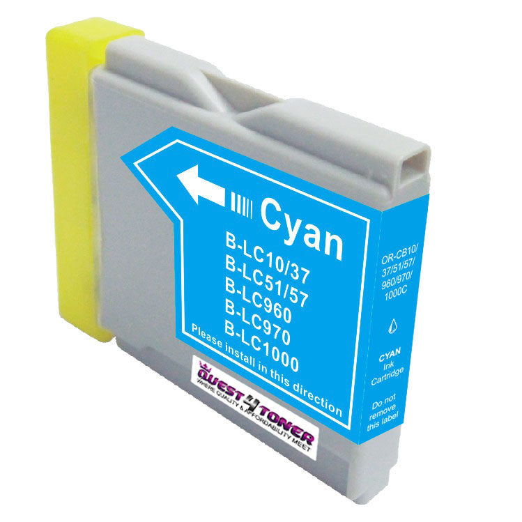 Compatible Brother LC 51C Cyan -Ink