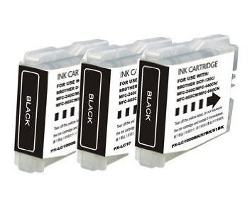 Compatible Brother LC-51 Black Ink 3 Pack